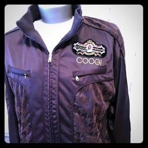 COOGI Men's Stars Varsity Track Jacket XL